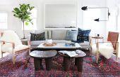 Hoe te coördineren van kleuren in een woonkamer