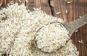 Hoe een mobiele telefoon uitdrogen met rijst