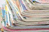 Het behouden van oude tijdschriften