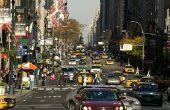 Regels voor het weergeven van New York staat nummerplaten