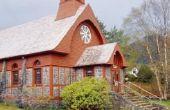 Hoe maak je een miniatuur kerk ambacht