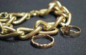 Hoe te vertellen als het gouden gevuld of massief goud