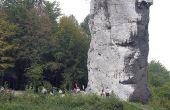 Hoe te breken grote brokken van kalksteen
