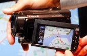 Het instellen van de datum op een Sony Handycam