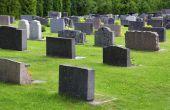Stenen gebruikt in grafstenen