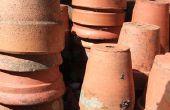 Hoe te verzegelen Terracotta potten