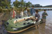 Hoe te repareren van een opblaasboot van PVC