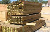 Hoe te bouwen van muren in een kelder met druk behandeld hout