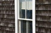 Hoe te schilderen van dakspanen van de ceder