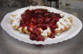 Hoe maak je een zelfgemaakte trechter Cake