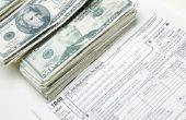 Hoeveel geld doet één moeten maken alvorens te moeten belastingen bestand?