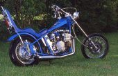 How to Convert een Harley Sportster 883 naar een Bobber Chopper