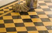 Hoe het verwijderen van olie uit een gladde vloer