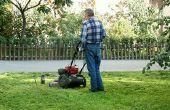 Hoe vindt u de brandstof lijn op een Briggs & Stratton grasmaaier