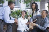 Werkplek professionele Etiquette
