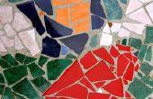 Hoe maak je Cement & gebrandschilderd glas Stepping Stones