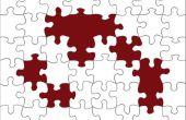 Hoe maak je een puzzel in PowerPoint