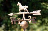 Hoe maak je een eenvoudige windwijzer