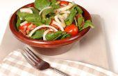 Spinazie en azijn dieet