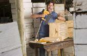 Hoe droog hout met een keuken Oven