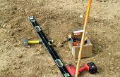 Instrumenten die gebruikt worden om een huis te bouwen
