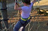 Hoe maak je een klimmen lading Net voor kinderen