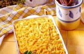 Hoe om te voorkomen dat Macaroni & kaas korrelig krijgen tijdens de stoomvoorziening