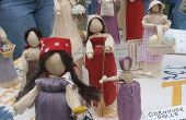Hoe maak Indiase poppen
