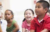 Een lijst van Helper banen voor kinderen van kleuterschool