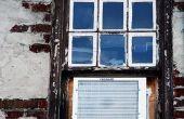 Hoe te isoleren van de oude Windows & houten Trim rond de ramen