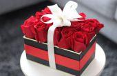 Hoe maak je mooie Aftelkalender voor Valentijnsdag Boxed bloemen