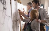 Hulpmiddelen kunstenaars gebruik voor arcering