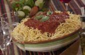 Dranken te serveren met Spaghetti