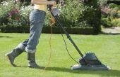 Wat voor soort verlengsnoer Is voor een elektrische grasmaaier?