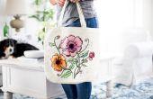 Hoe maak je een Canvas zak die u kunt kleur op
