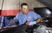 Het wijzigen van een oliefilter op een 2007 VW GTI