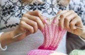 Hoe te een sjaal breien voor een Man