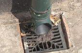 De vereiste isolatie voor afvoer leidingen op een dak