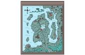 Hoe te trekken oorspronkelijke Fantasy-kaarten voor uw fictie