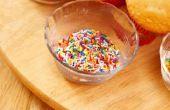 Wat kan worden gezet op de top van Toffee in plaats van noten?