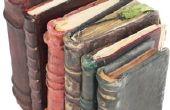 Hoe maak je oude boeken geur goed