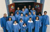 Hoe schrijf je een uitnodiging voor een kerkkoor naar een andere kerk