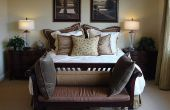 Ideeën voor het verfraaien van een Bed