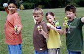 Waterspelen voor een grote groep kinderen