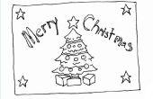 Hoe maak je kerst enveloppen