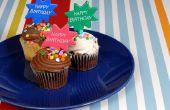 Ideeën versieren voor Verjaardag Cupcakes