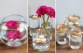 Hoe maak je drijvend kaars Centerpieces voor een bruiloft