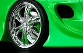 Hoe te poetsen en opknappen van aluminium wielen