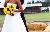 Zonnebloem bruiloft kleuren