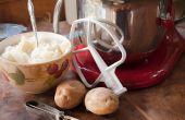 Hoe u een Stand Mixer met puree van aardappelen